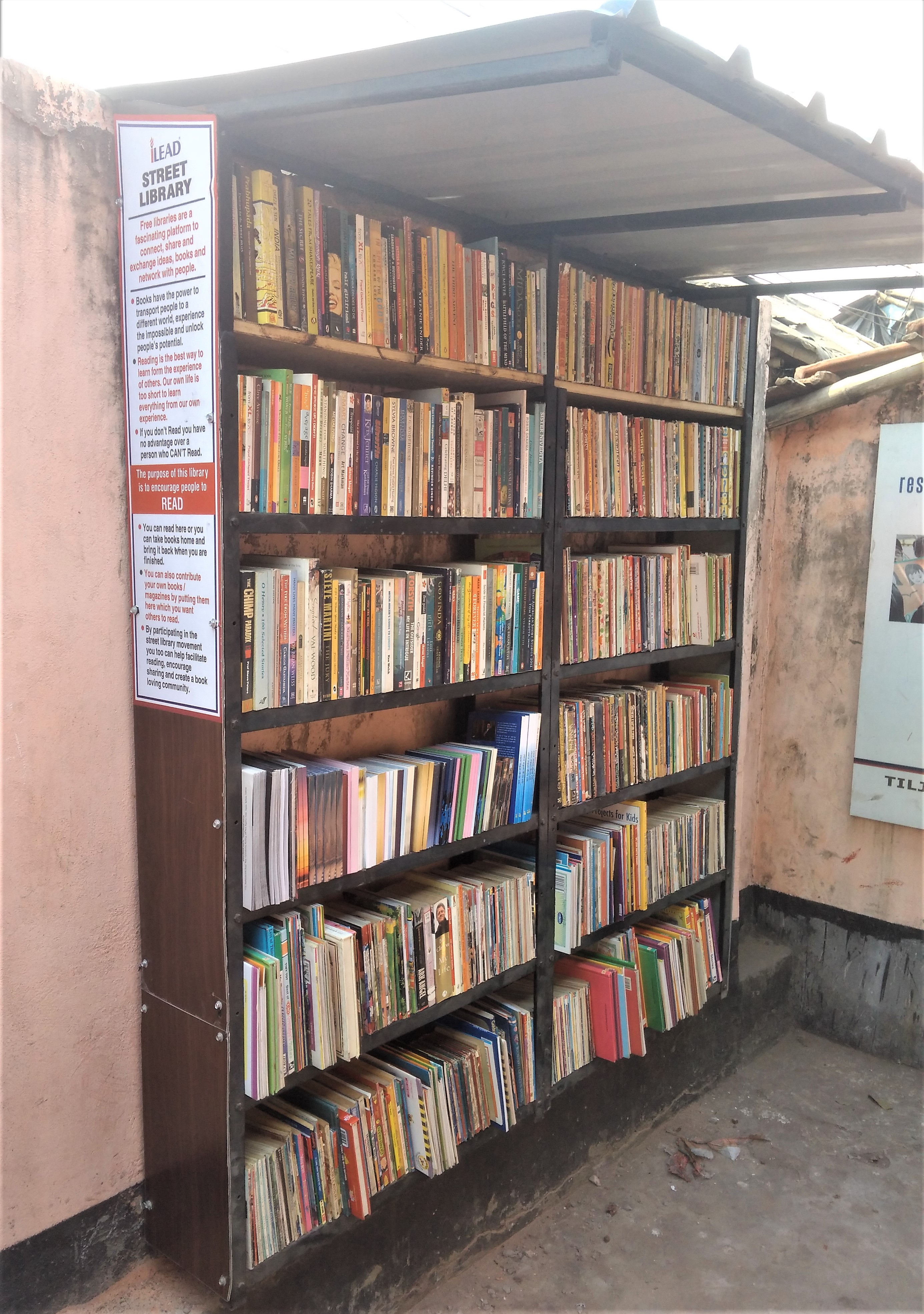 Street Library Salimpur
