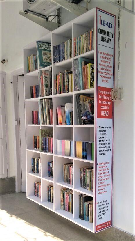 iLEAD Street Library - Bichinta Welfare Organisation, Selimpur