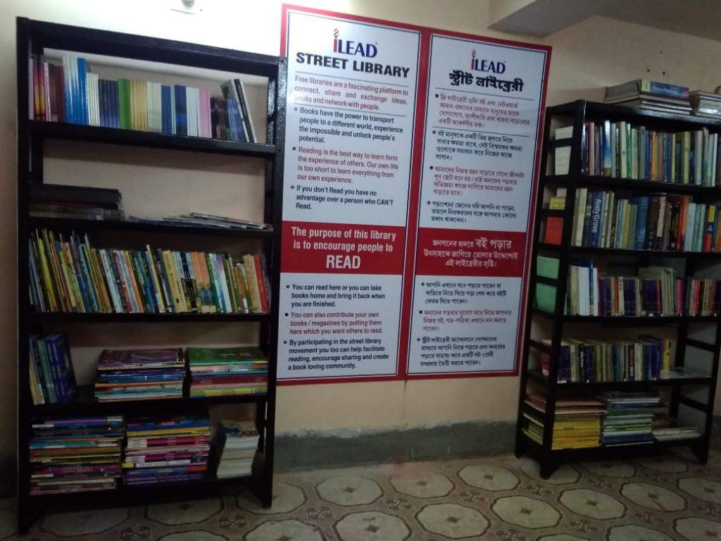 iLEAD Street Library - Naupara Mitra Sangha