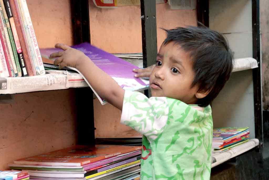 iLEAD Street Library - Tiljala Shed, Topsia