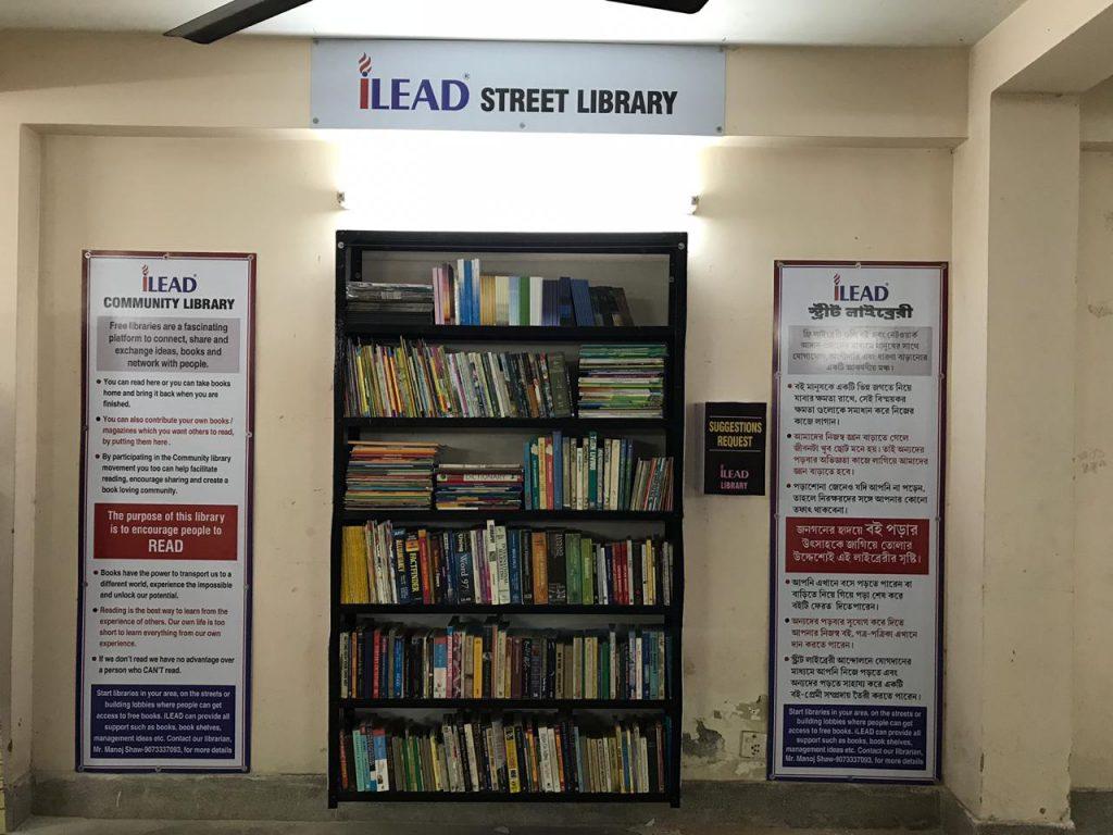 iLead Street Library - Vaishanvi Garden, Joka