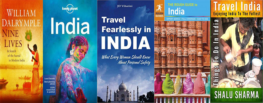 5 Best Travel Guide Books for India
